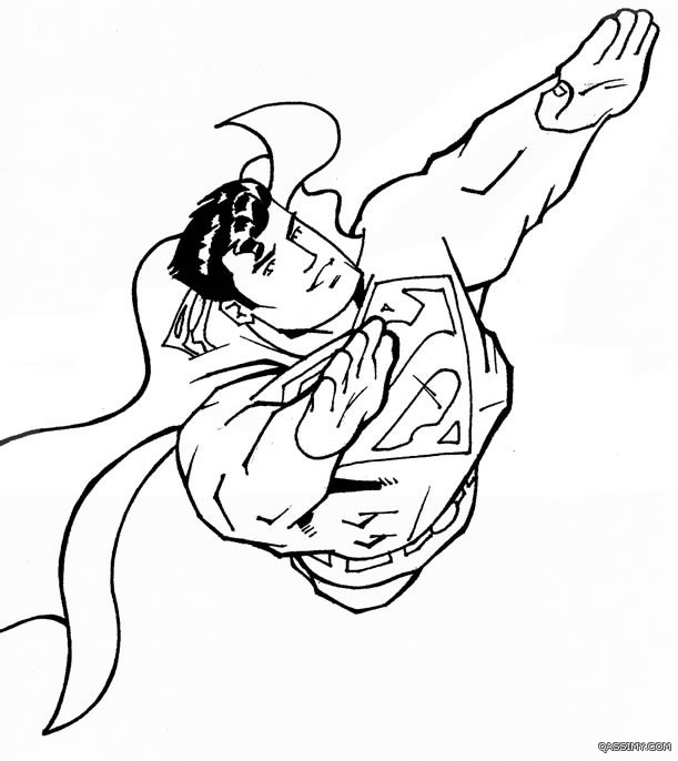 � ��� � 1 superman coloring �� �