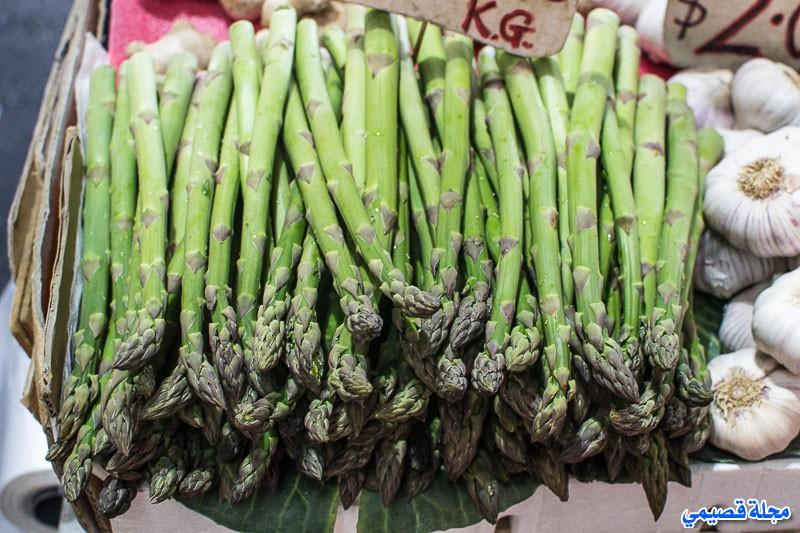 الهليون - السكوم - asparagus