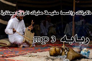 اغاني ربابه - ذكرتك والسماء مغيمه - لحن عراقي موال- شادي أبازيد