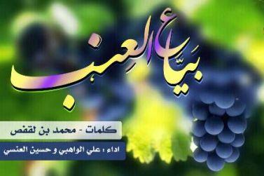 شيله طربيه بياع العنب ما جاني..شكله يا سعد زعلاني mp3